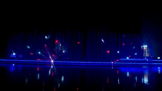 China Creative Modern Laser Light Dance Show For Commercial Plaza Customized Design factory