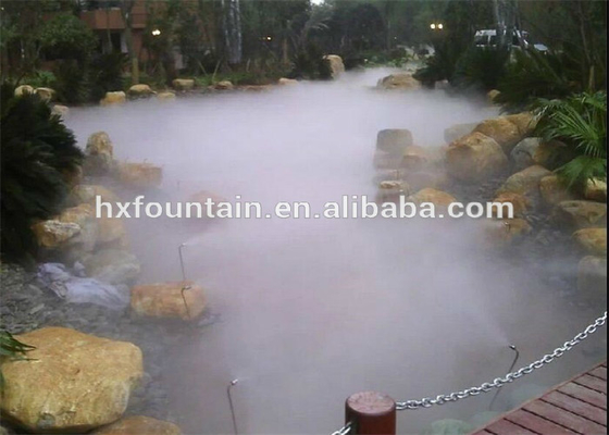 China Modern Water Mist Fountain Using High Pressure Fogging System Eco Friendly factory