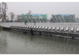 China Large Water Park Laminar Flow Fountain , Laminar Jets Water Features Long Using Life factory