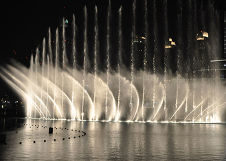 China good quality Large Sea Floating Music Dancing Fountain With Stainless Steel For Water Surface on sales