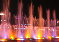 Large Swing Musical Water Fountain Show Customized Size / Water Shape supplier