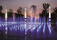 Artificial  Beautiful Floor Water Fountains Dancing Water Show For Park supplier